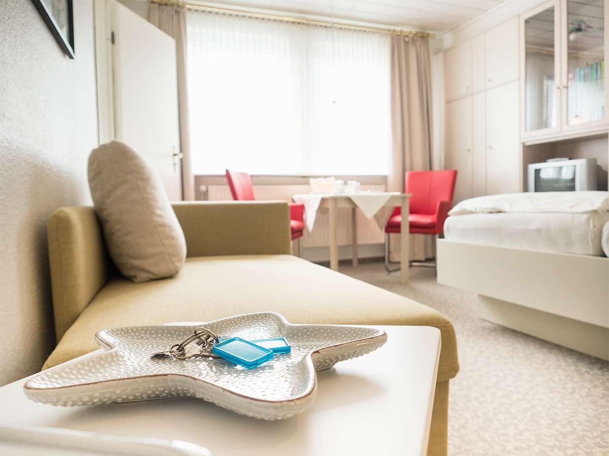 Die Ferienwohnung Nr.2. Ein kleiner Einblick in die Wohnung. Genießen Sie Ihren Urlaub auf der Insel Norderney.
