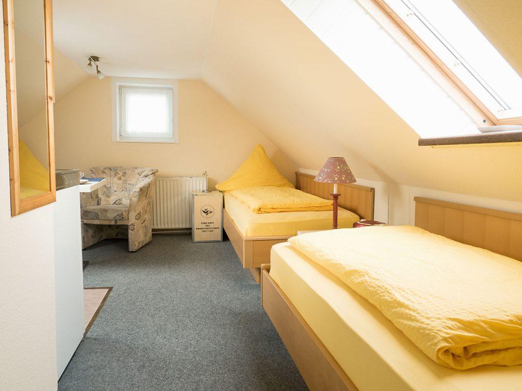 Schlafzimmer der Ferienwohnung Nr.6