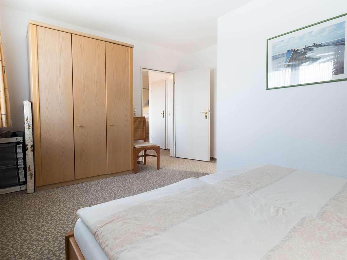 Viel Platz für Ihre Gepäck in der Ferienwohnung 4 im Haus Meereswoge auf Norderney.